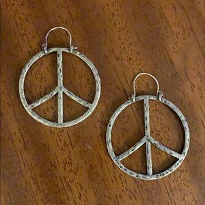 LICKY BRAND Peace Earrings
